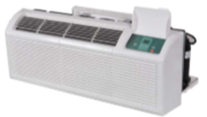 (24V North American universal controller) 42″ Packaged Terminal A/C & H/P 9,000Btu & 3500W Electric Heat.